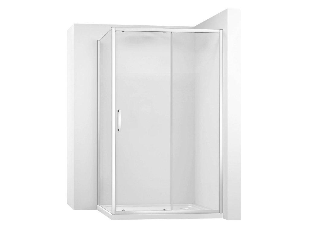 Kabina sprchová REA SLIDE PRO rohová |Varianta produktu - dveře: 110 x Stěny: 80