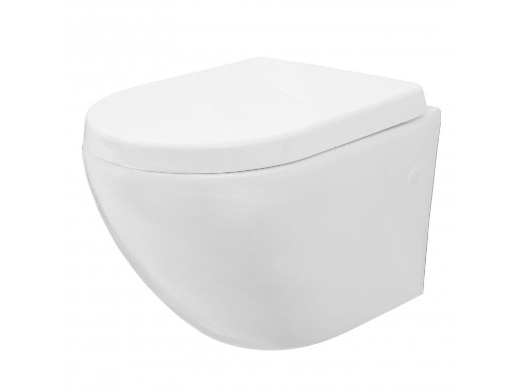Mísa WC závěsná REA CARLO MINI RIMLESS ABS