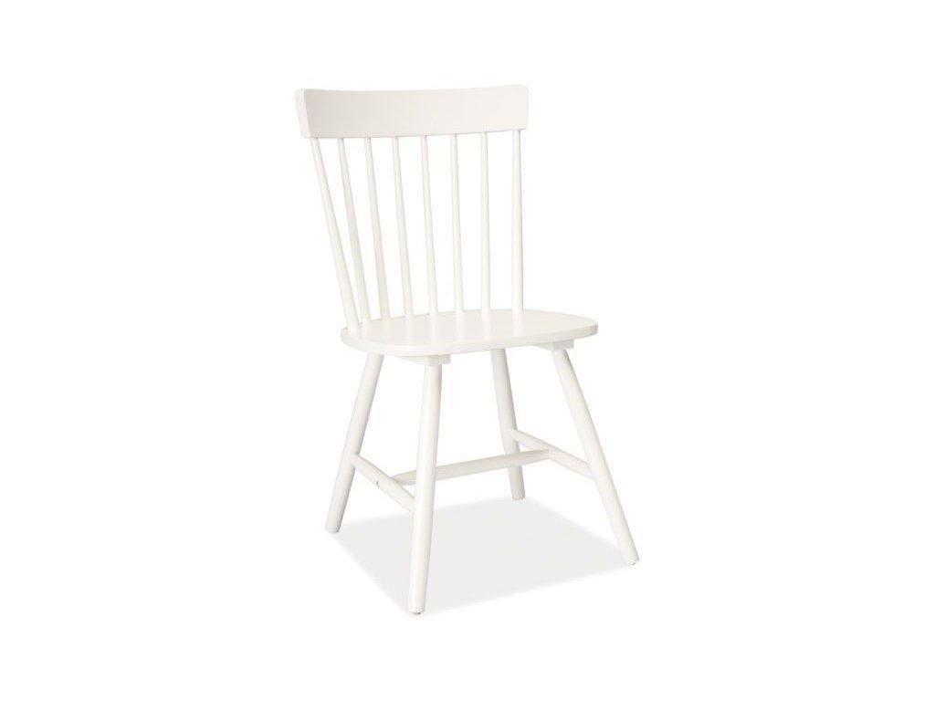 Židle ALERO bílá