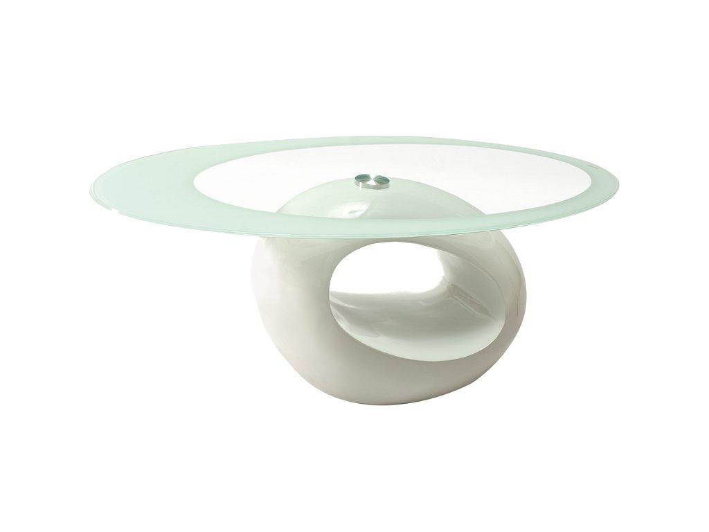 Konferenční stolek E bílá 110x60x45