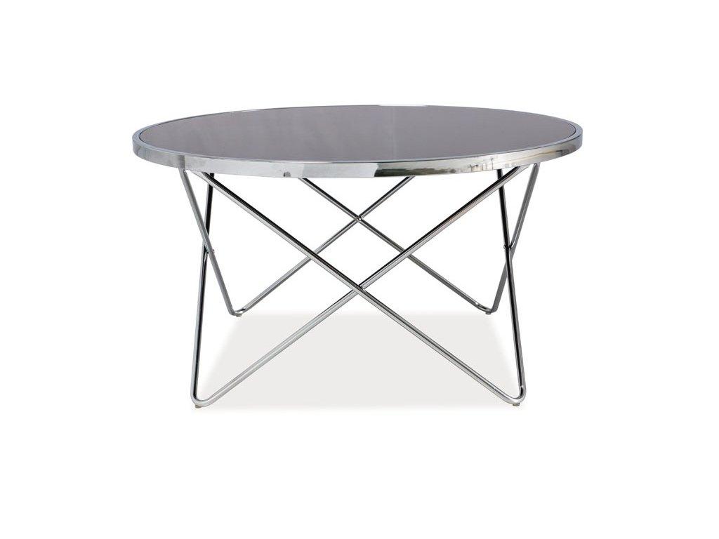 Konferenční stolek FABIA B černá/chrom