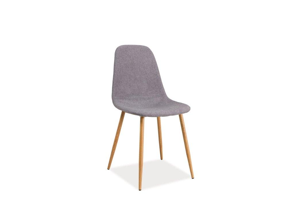 Židle FOX šedá