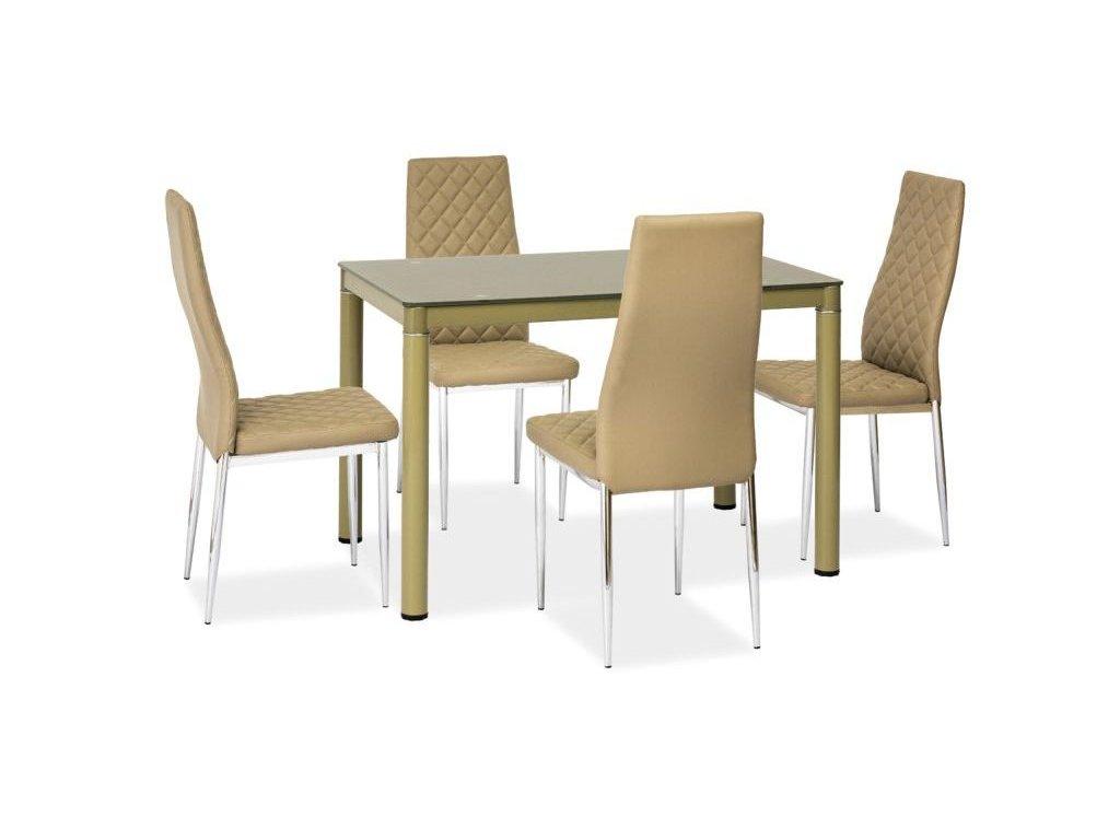 Stůl GALANT tmavý bez 110*70