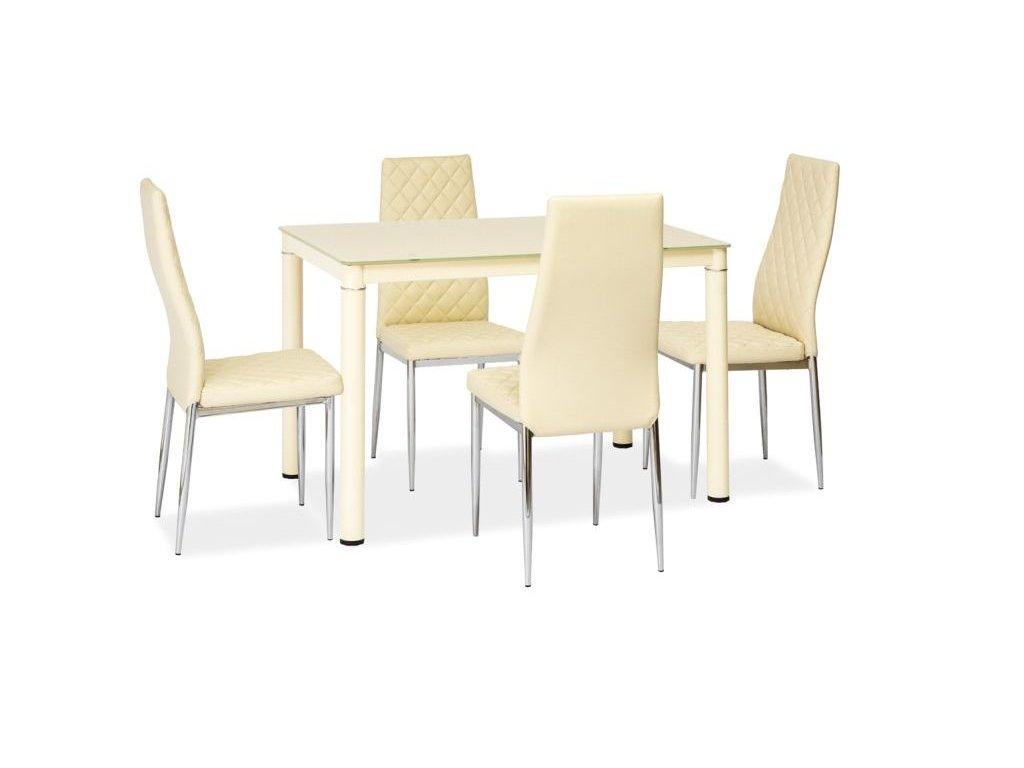 Stůl GALANT krém 110*70