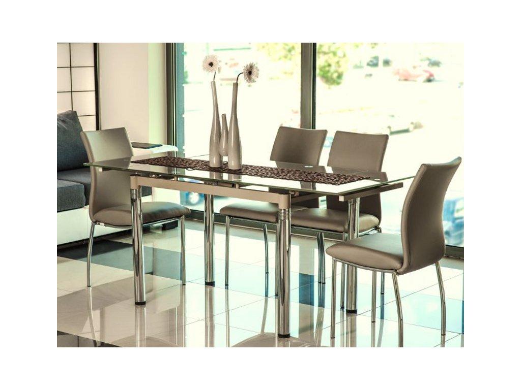 Stůl GD018 tmavý bez 110(170)x74
