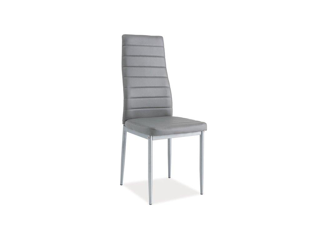 Židle H261 bis hliník rošt/šedá