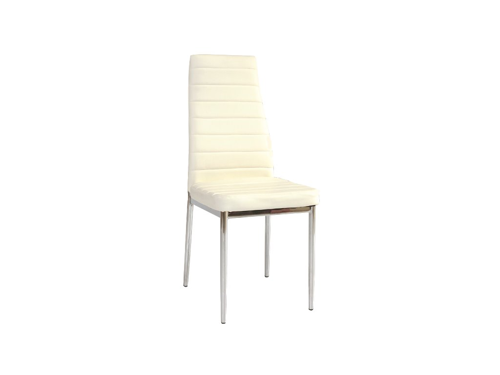 Židle H261 bílá/chrom