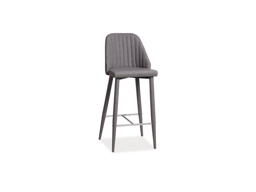 Barová židle JOKO šedý