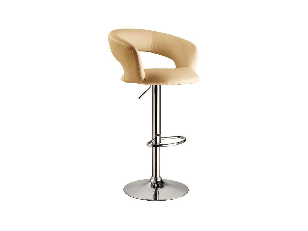 Barová židle C328 krém
