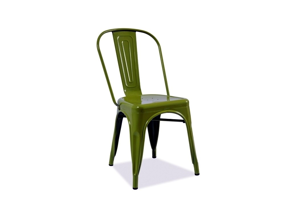 Židle LOFT zelená