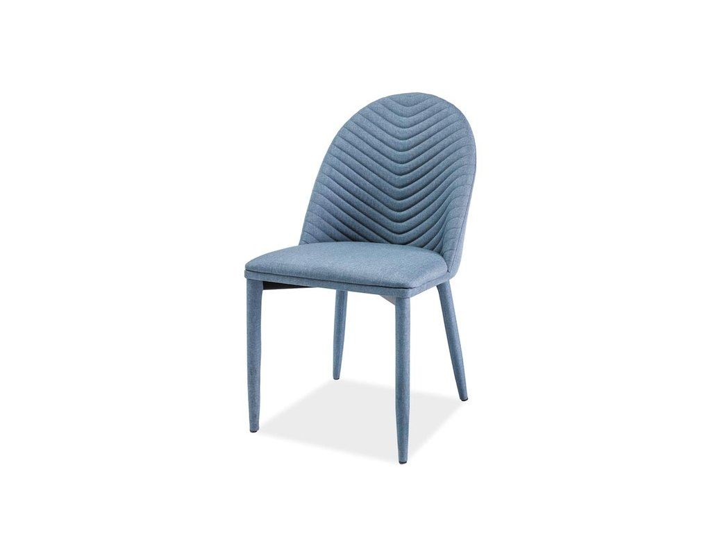 Židle LUCIL denim materiál