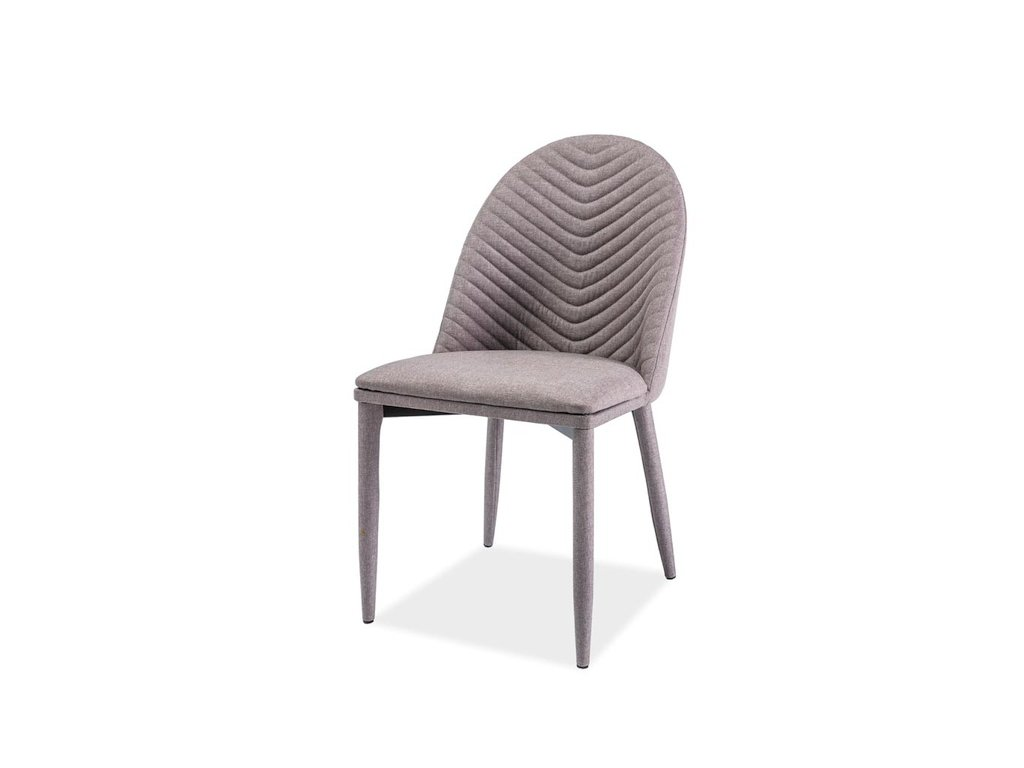 Židle LUCIL šedý materiál