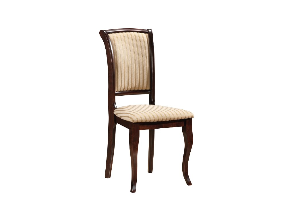 Židle MNSC tmavý ořech t19