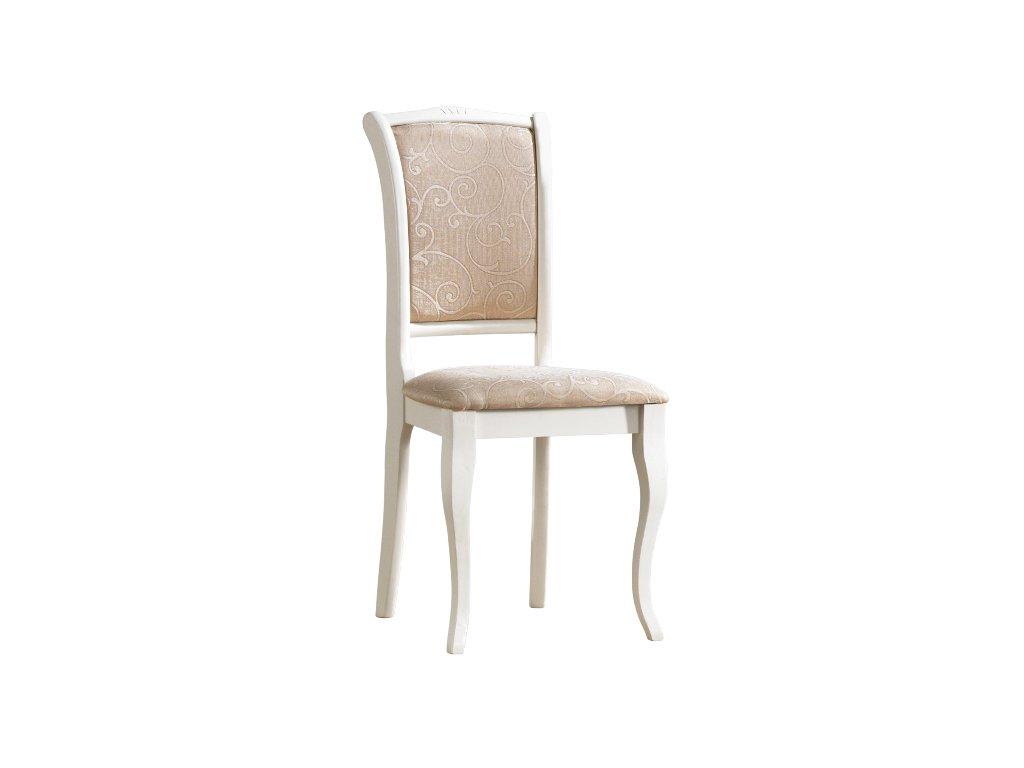 Židle OPSC2 bílá t08 (přírodní)