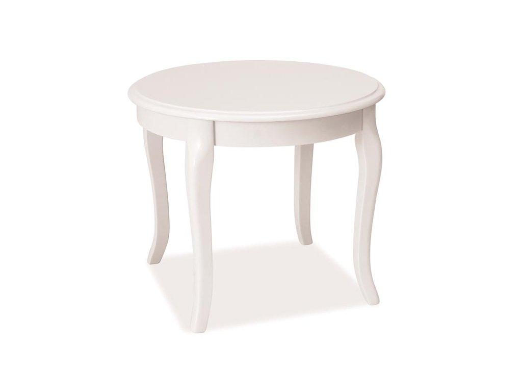 Konferenční stolek ROYAL D bílá