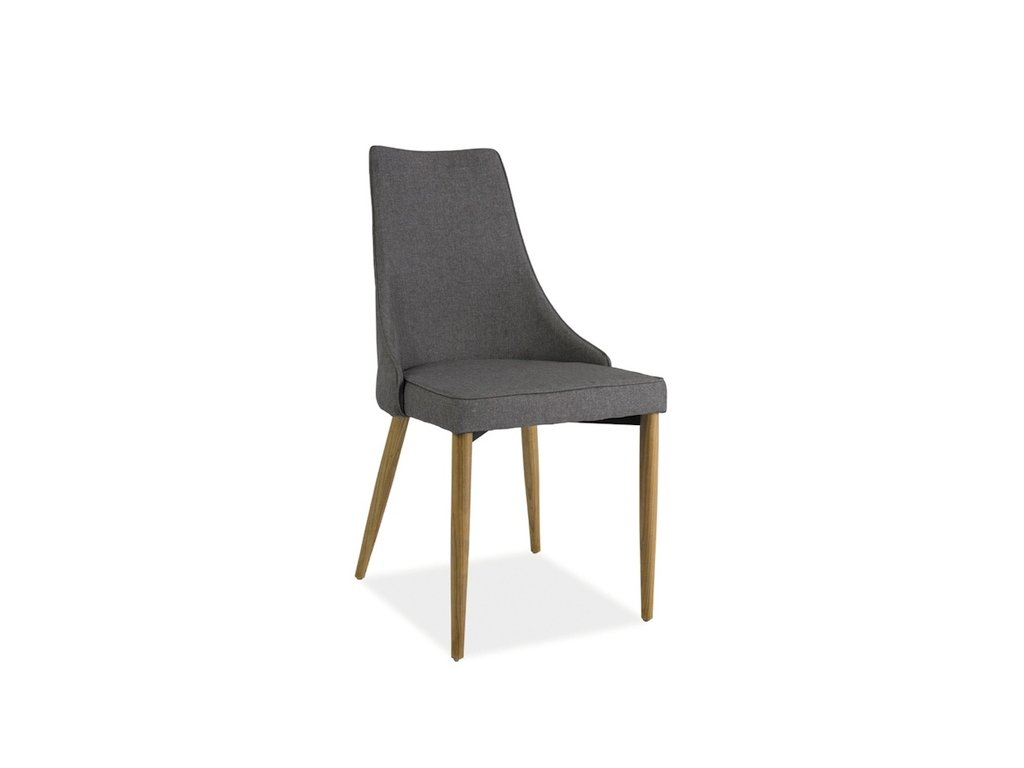 Židle SAND buk šedý materiál