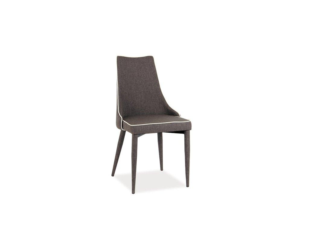 Židle SOREN tmavě šedá polstrování.08 (směs) materiál