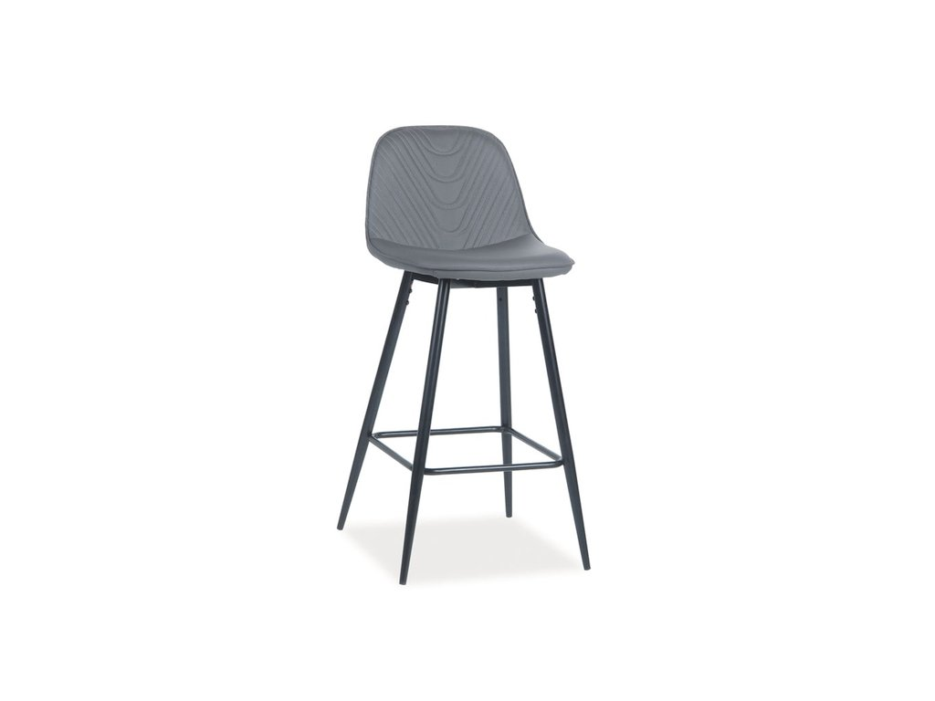 Barová židle TEO H-1 šedá