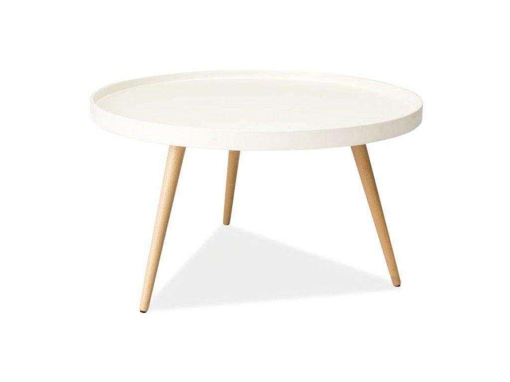 Konferenční stolek TONI B barva bílá