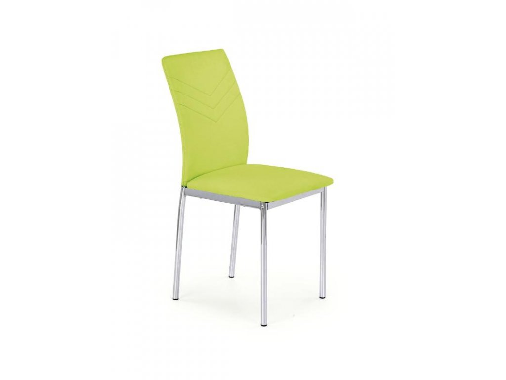 K137 židle limetkově zelená