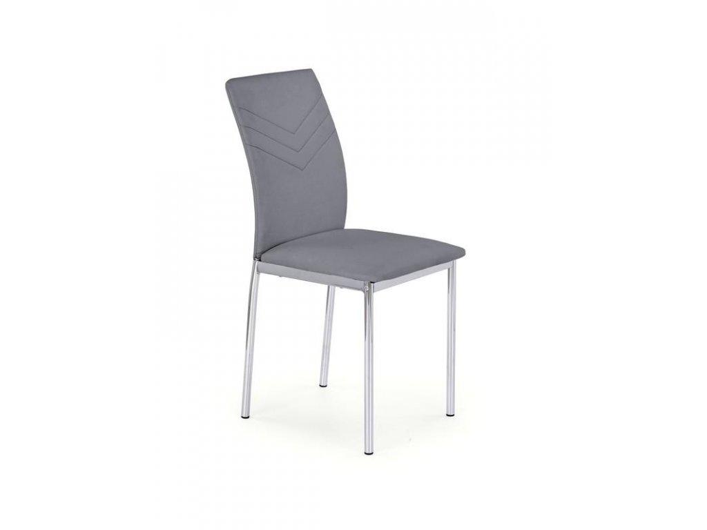 K137 židle šedá
