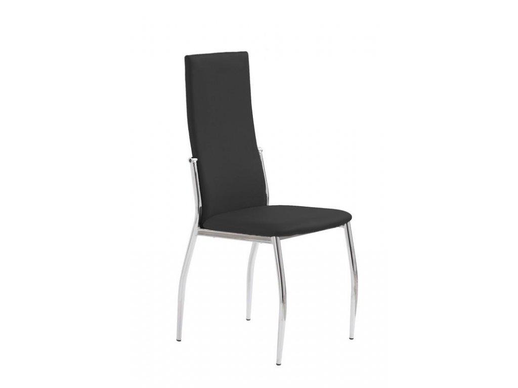 K3 židle chrom / černá