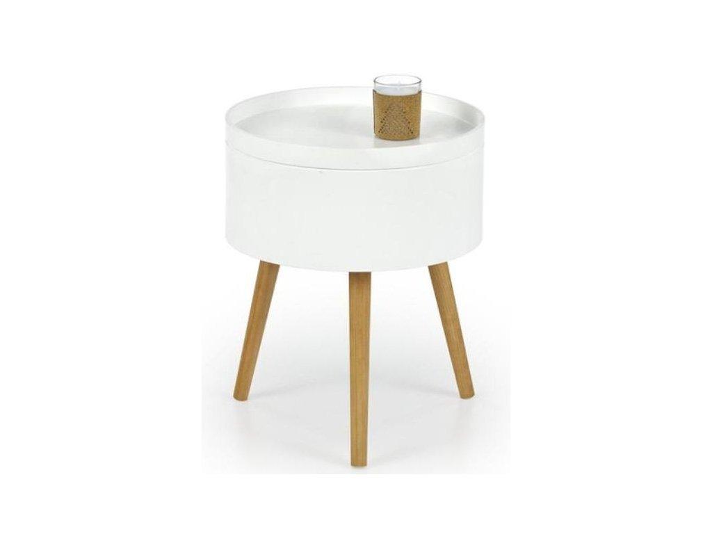 SUPRA stolek konferenční bílý