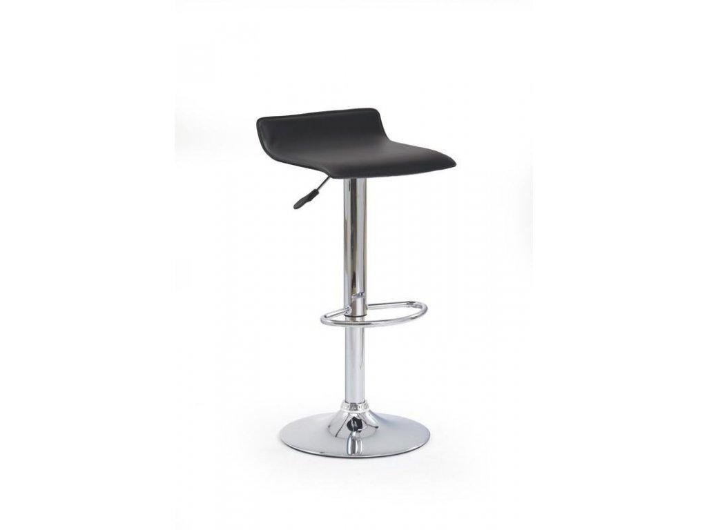 H1 barová židle černá