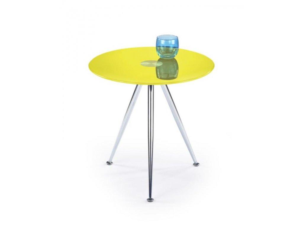 SIENA stolek konferenční žlutý