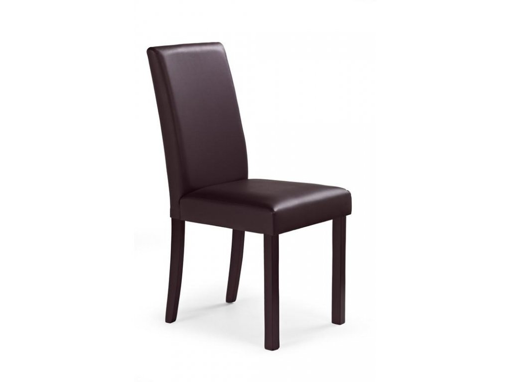 NIKKO židle tmavý ořech / tmavě hnědá