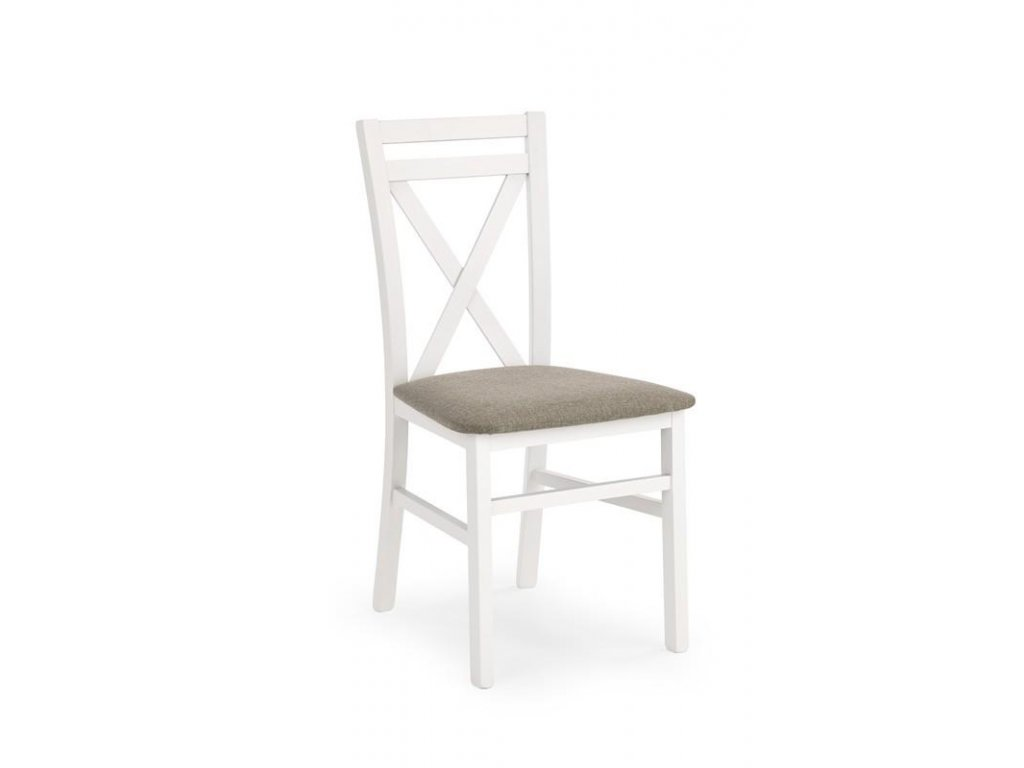 DARIUSZ židle bílá / Polstrování: Inari 23
