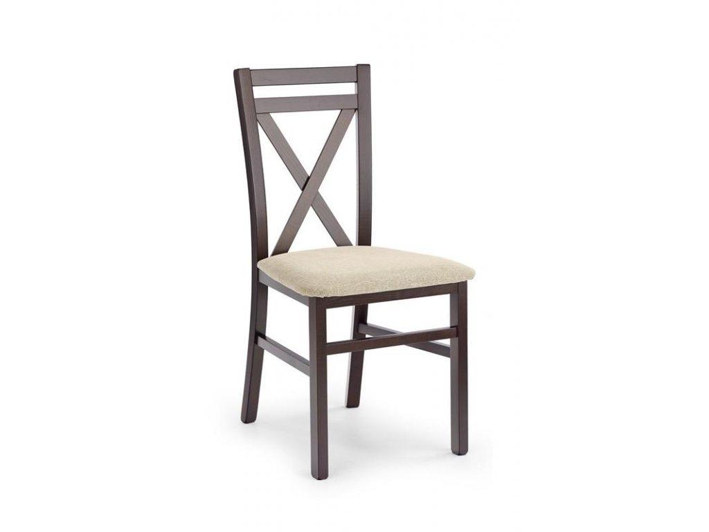 DARIUSZ židle tmavý ořech / Polstrování: Vila 2