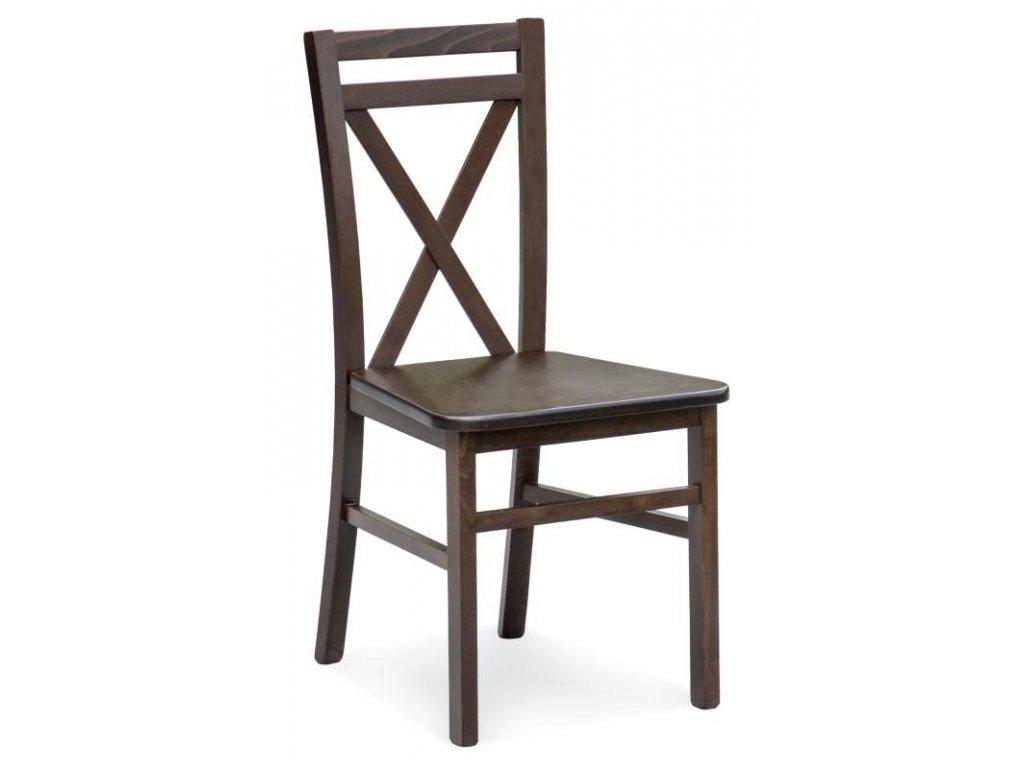 DARIUSZ 2 židle tmavý ořech