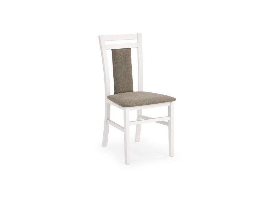 HUBERT8 židle bílá / Polstrování: Inari 23