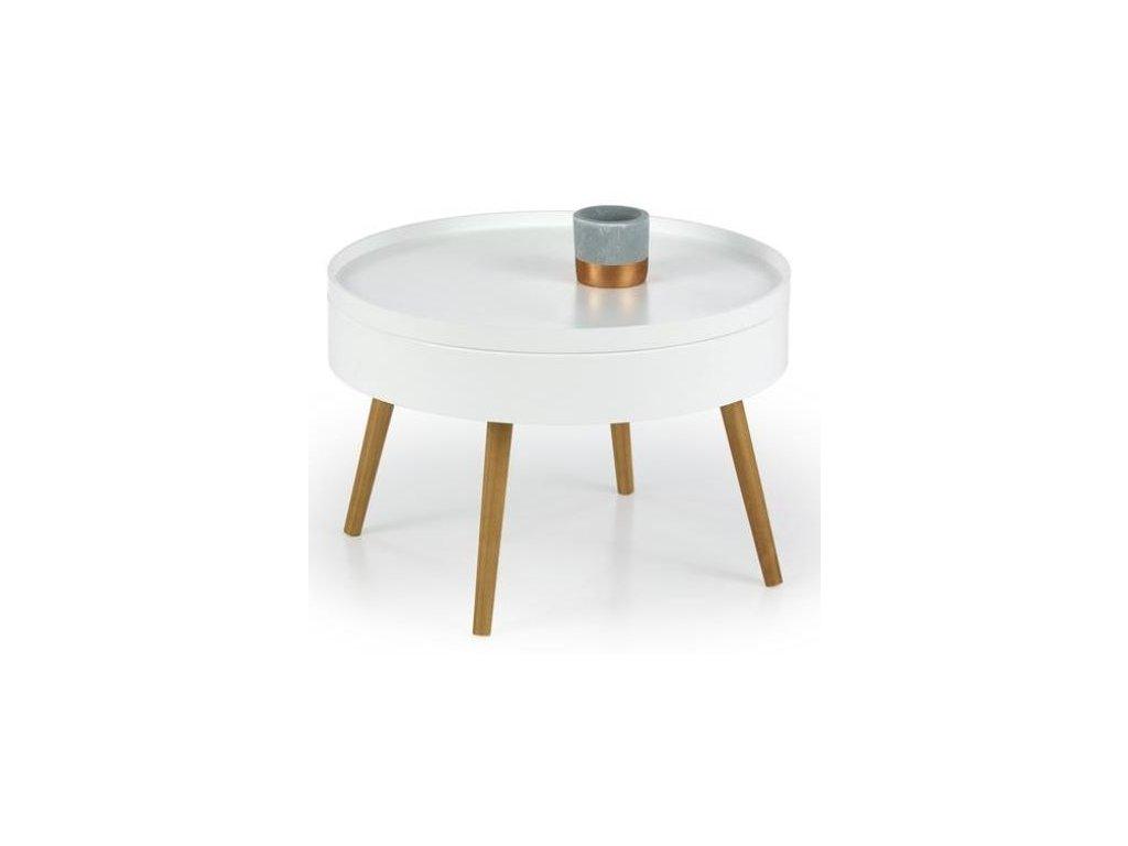 STARLET stolek konferenční bílý