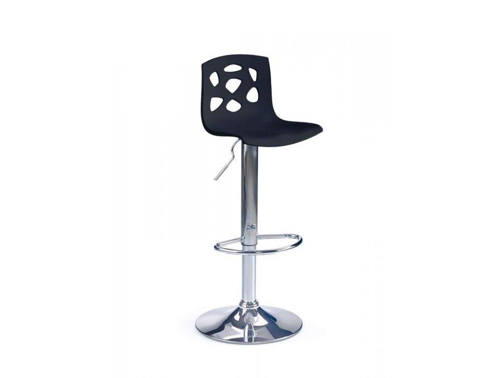 H48 barová židle černá
