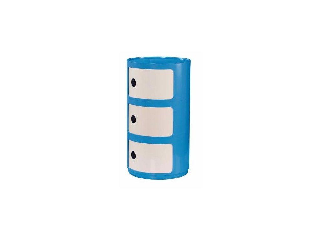 ALF kontejner malý modro - bílý