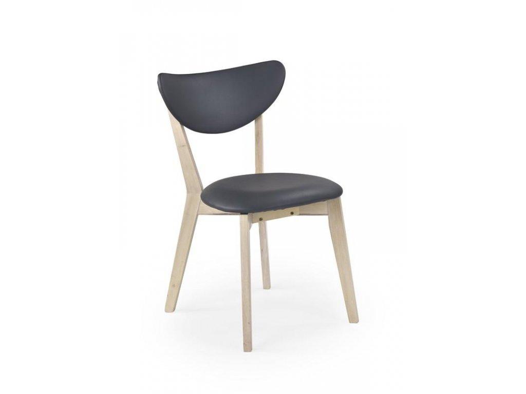 POLO židle bílá wash / šedá