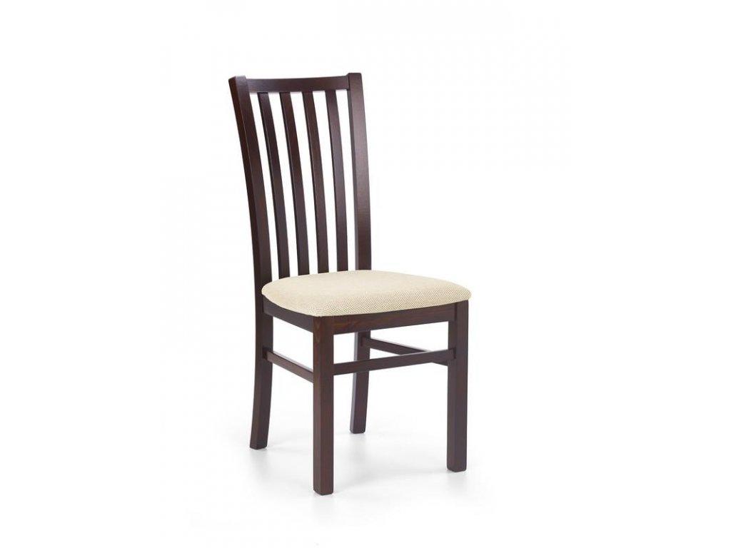 GERARD7 židle tmavý ořech / Polstrování: Torent Beige
