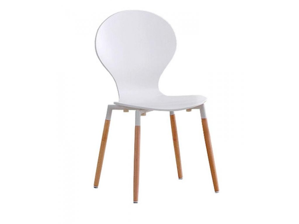 K164 židle bílá
