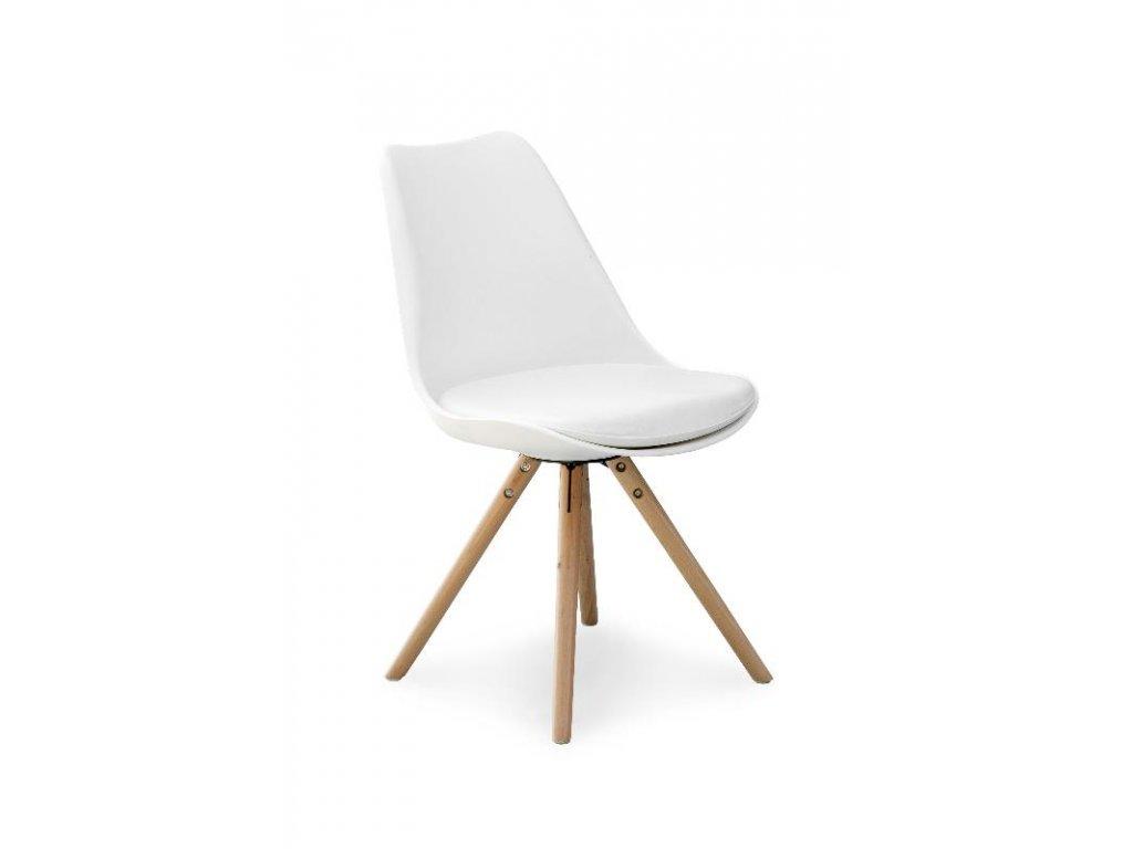 K201 židle bílá