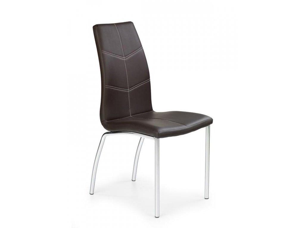 K114 židle hnědá