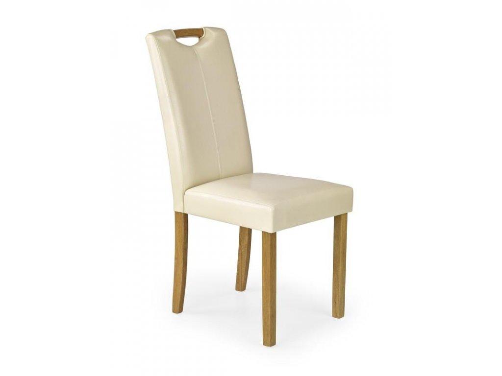 CARO židle buk / krém
