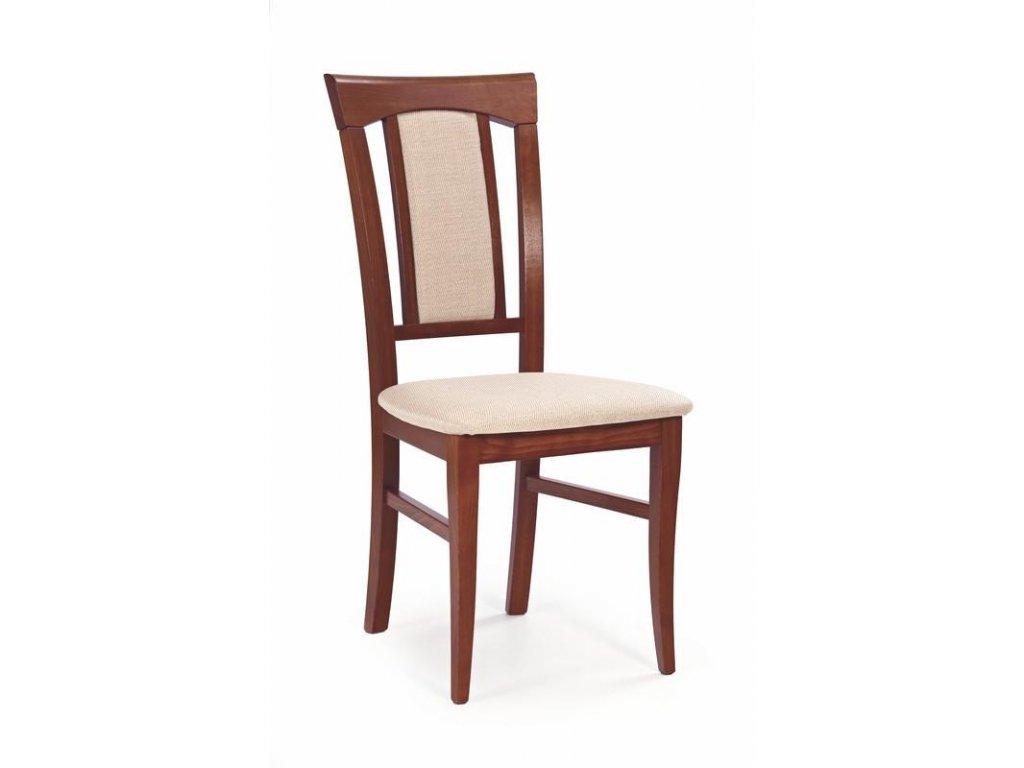 KONRAD židle antická třešeň II / Polstrování: Mesh 1