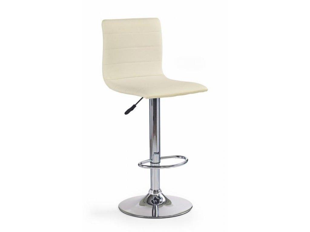 H21 barová židle krémová