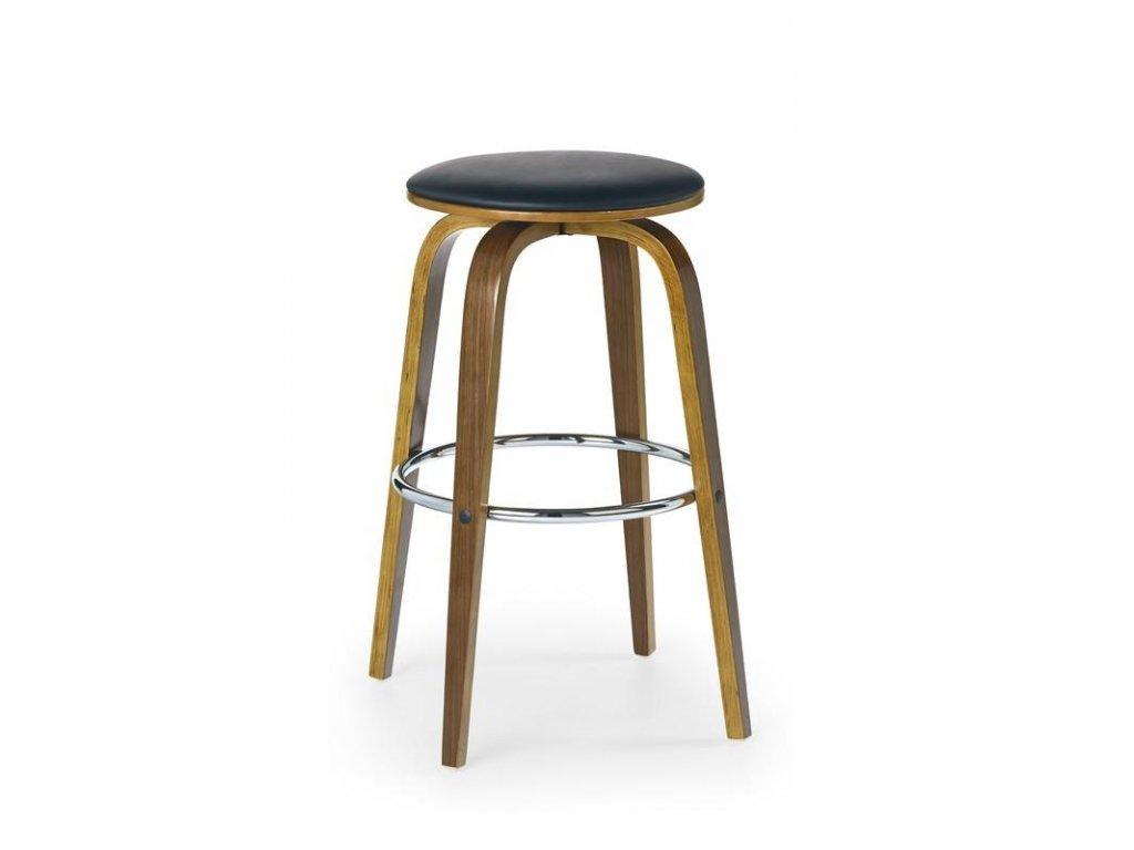 H39 barová židle ořech / černá