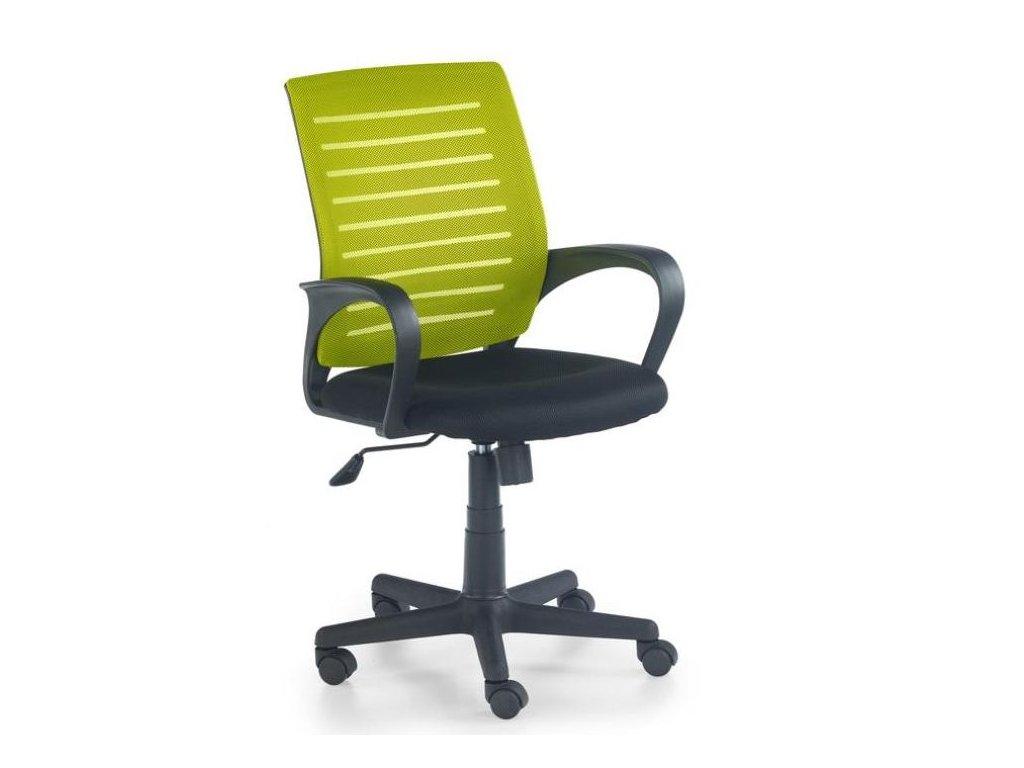 SANTANA křeslo kancelářské černo-zelené