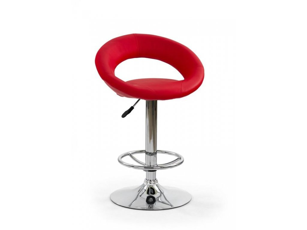 H15 barová židle červená
