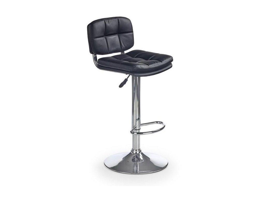 H75 barová židle černá