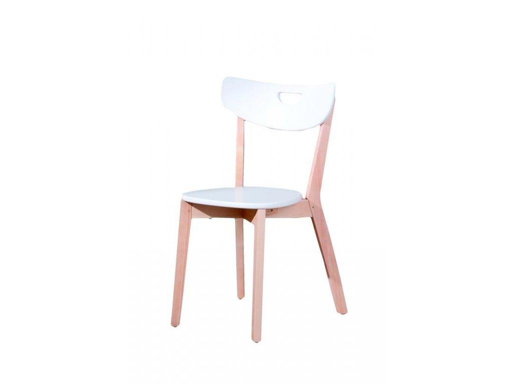 PEPPI židle bílá
